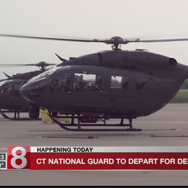 40 members of CT Army National Guard to deploy to Afghanistan