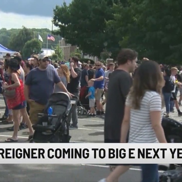 Foreigner scheduled to perform at 2019 Big E