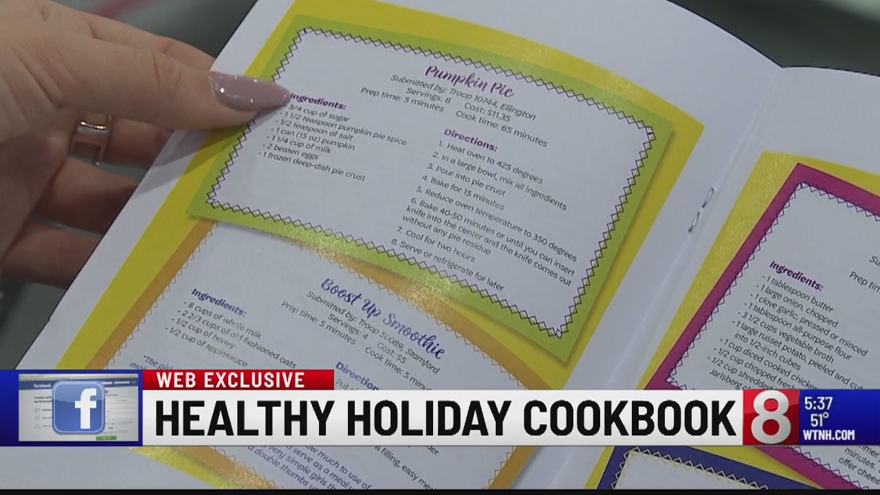 Girl Scouts of Connecticut Release Healthy, Affordable Cookbook