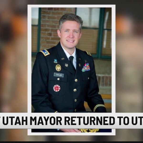 Remains of Utah mayor, killed on Guard duty in Afghanistan, to arrive in US
