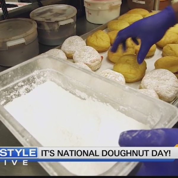 Today's Dish: It's National Doughnut Day!