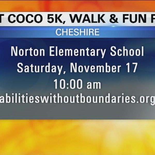 Walk of the week: 10th Annual Hot COCO 5K, Walk & Kids Fun Run