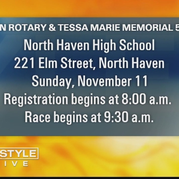 Walk of the week: North Haven Rotary & Tessa Marie Memorial 5k & Fun Run