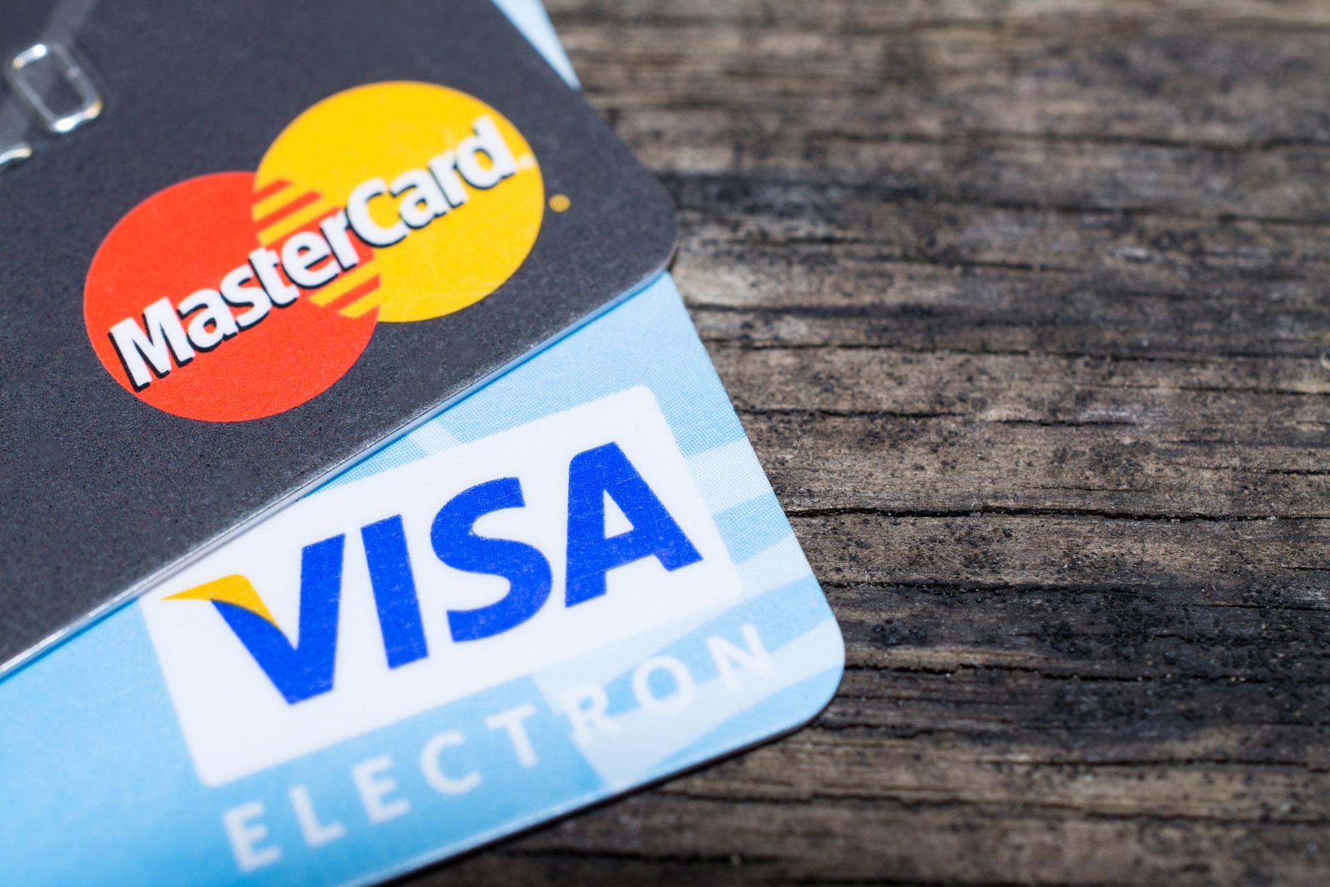 visa mastercard credit card