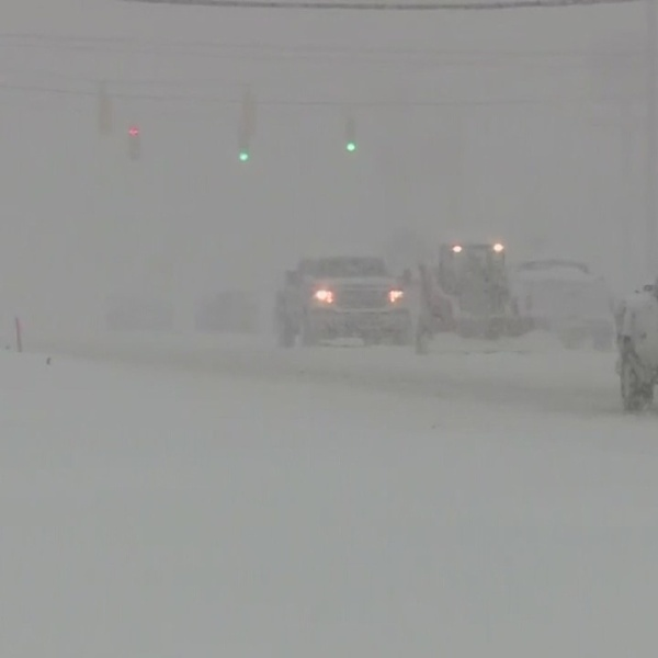 Deadly snow storm causes mess in South East