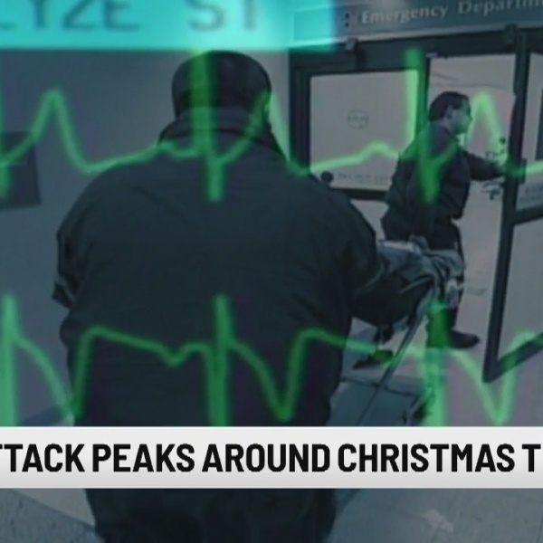 Risk of heart attack peaks around Christmas, new study suggests