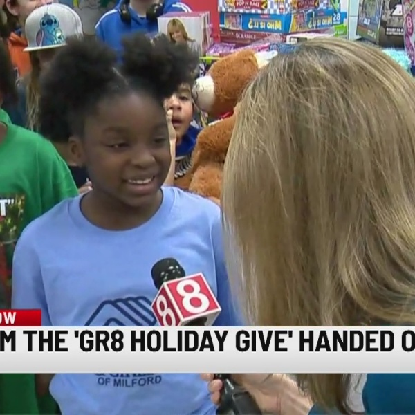Toys delivered from Gr8 Holiday Give to Boys & Girls Club of Milford