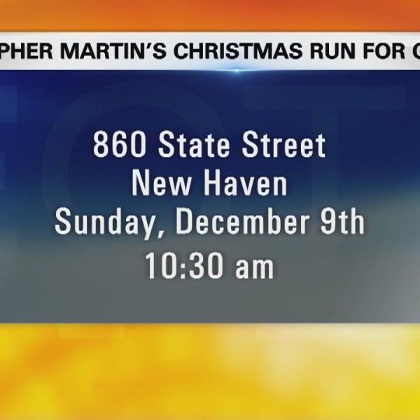 Walk of the week: Christopher Martin's Christmas Run for Children
