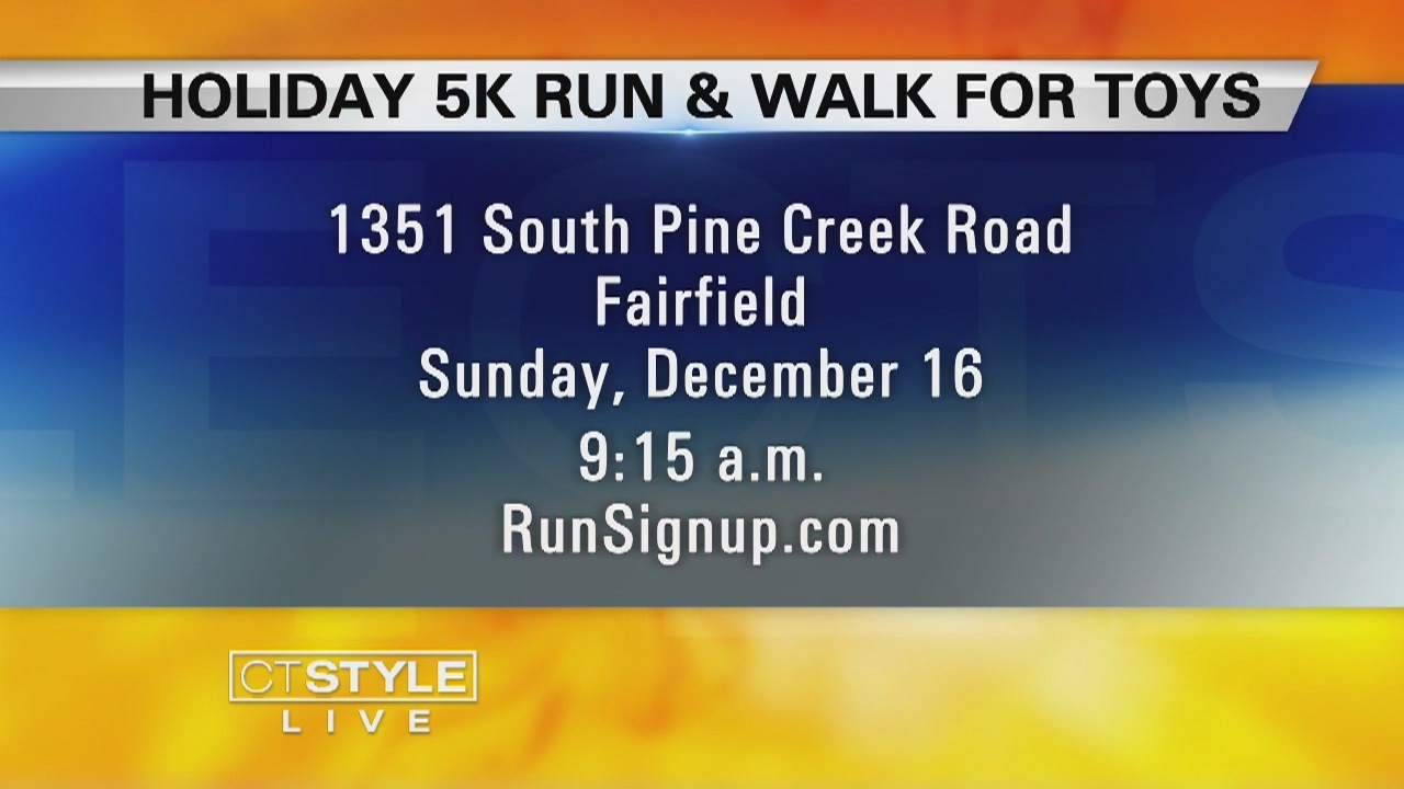 Walk of the week: Walk of the week: Holiday 5K & Walk for Toys