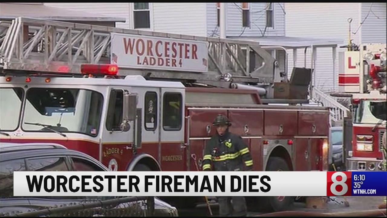 Worcester firefighter dies while battling huge blaze, the