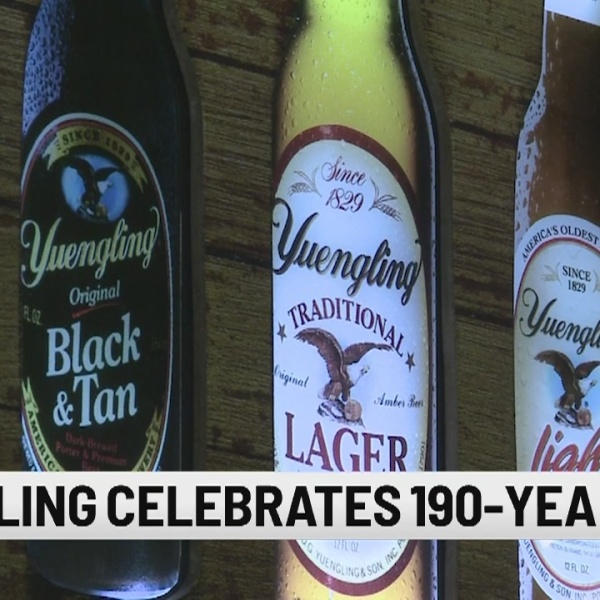 Yuengling celebrates 190th birthday with commemorative beer cans