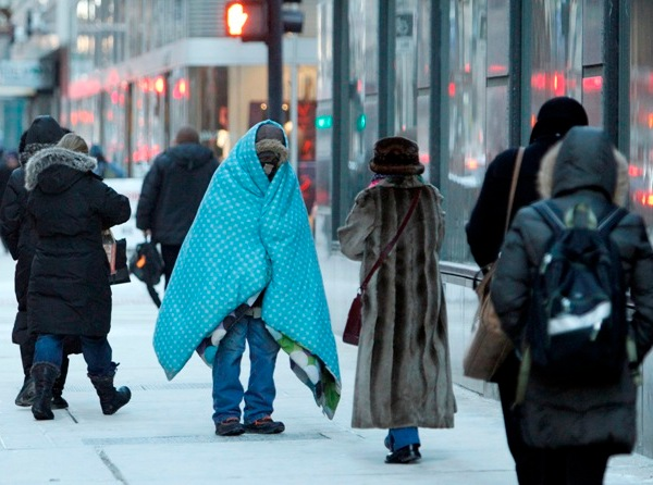 homeless cold shelter warming center generic AP_62276