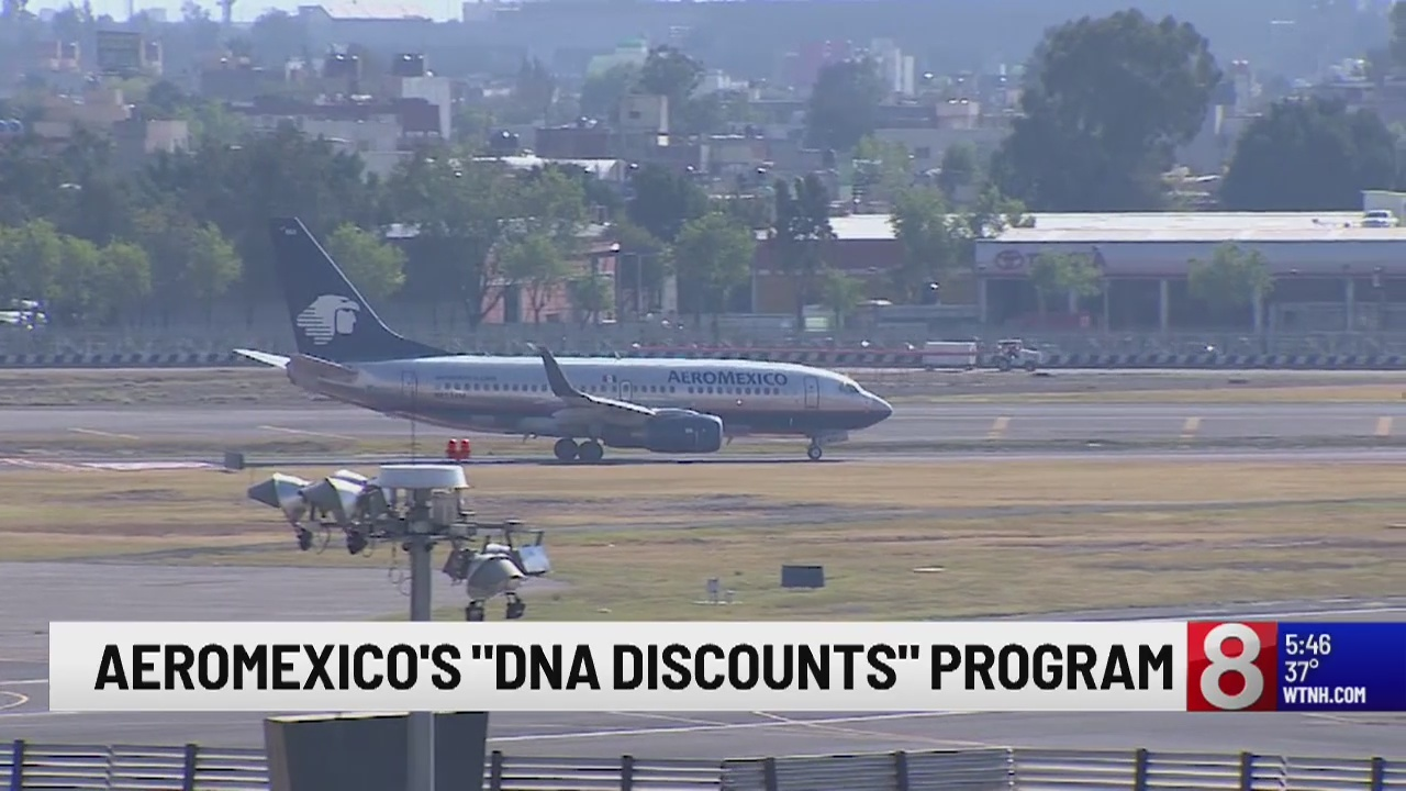 AeroMexico offers discount to Americans with Mexican DNA