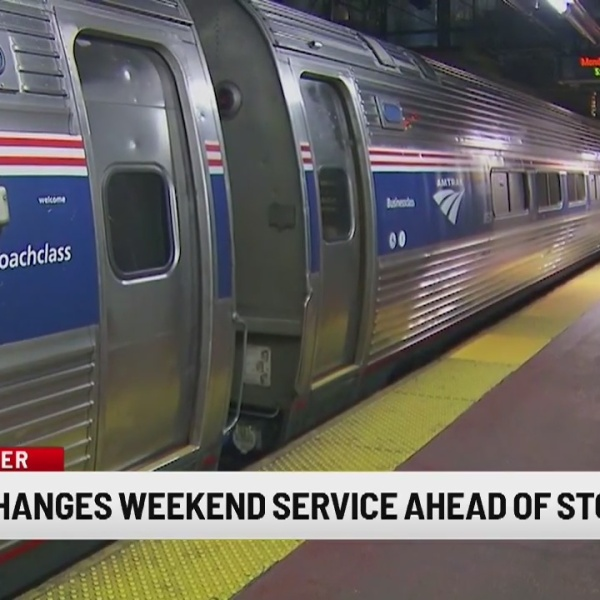 Amtrak: Winter storm will impact Northeast schedules for commuters