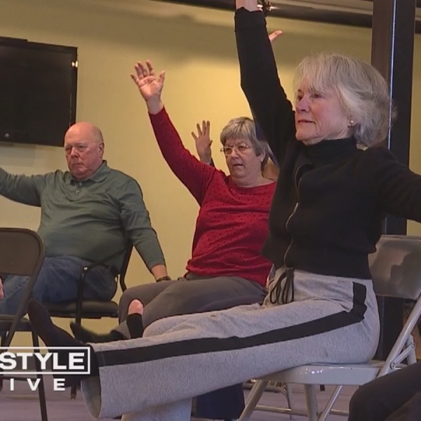 Living Well: Chair Yoga Helps Old Saybrook Seniors Improve Strength and Flexibility