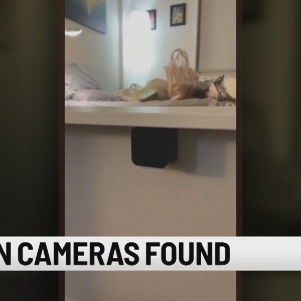 Man discovers hidden cameras inside of Miami Airbnb