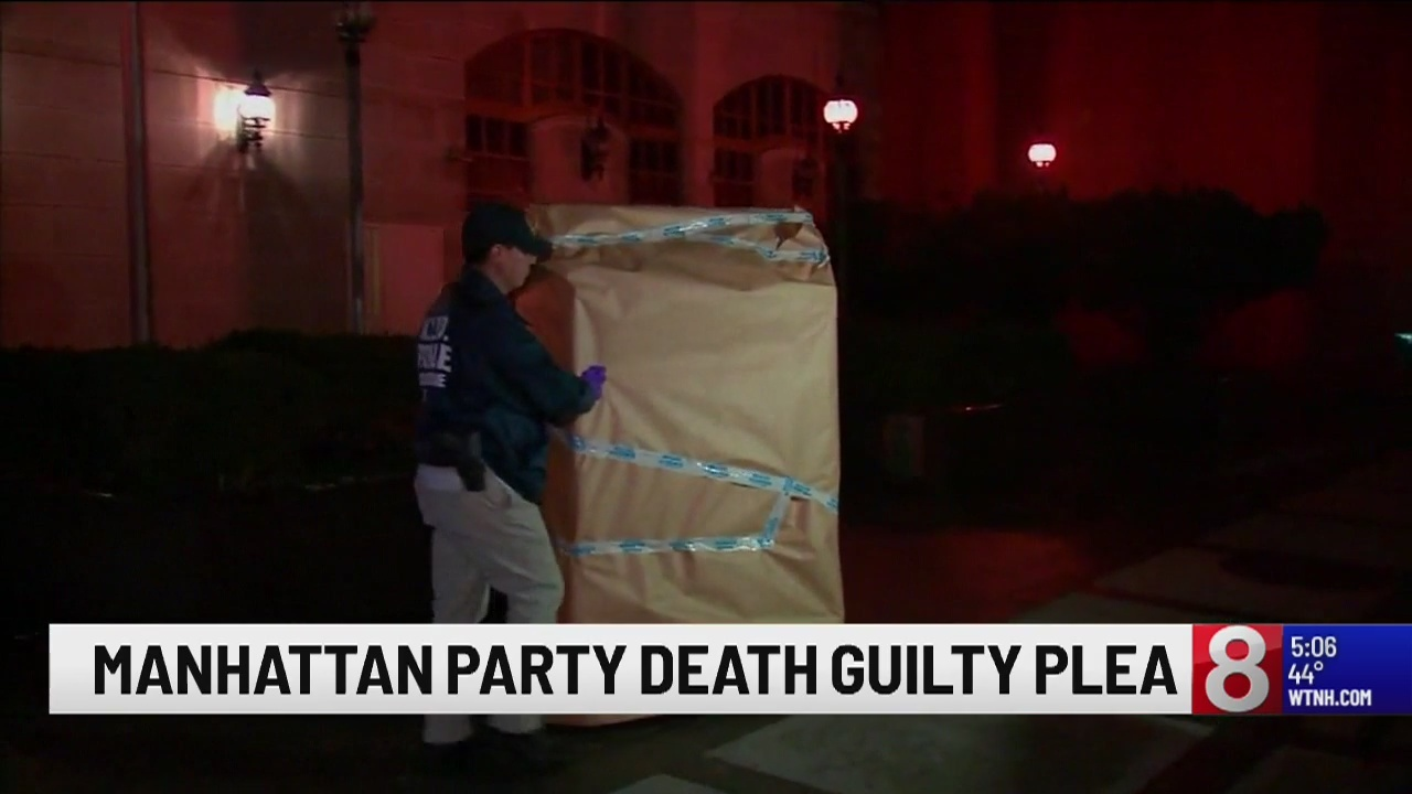 Man pleads guilty for his role in NYC party death