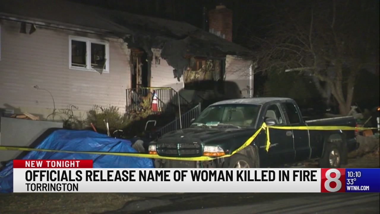 Officials name woman killed, man hurt in Torrington house fire