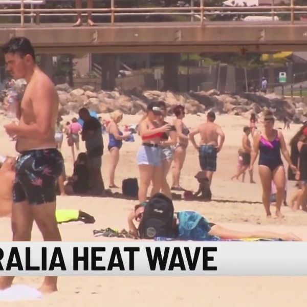 Record-breaking heat wave for 2nd time in a month in Australia