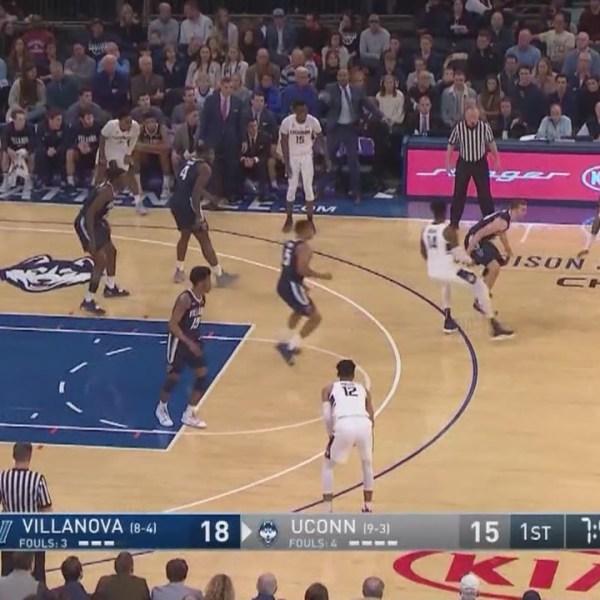 UConn men basketball at Villanova