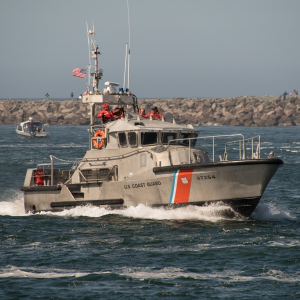 United States Coast Guard USCG Generic Boat