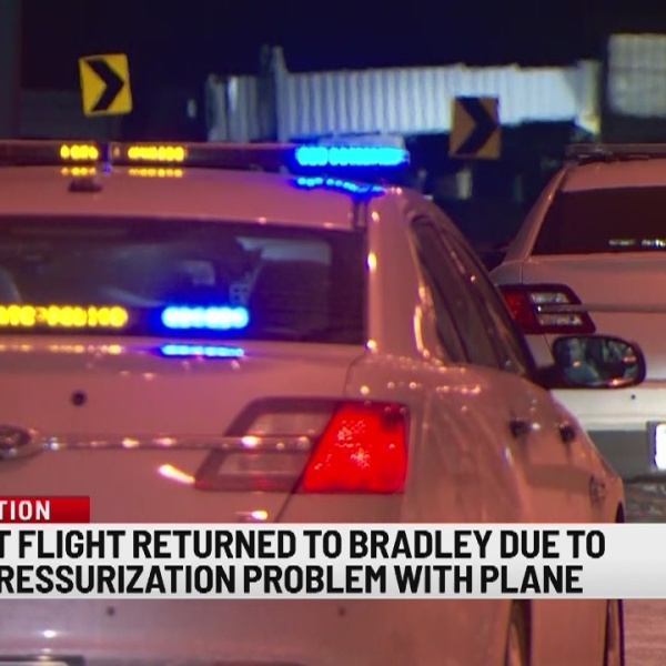 Bradley flight makes unexpected descent back to airport