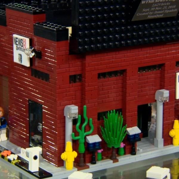 Connecticut's LEGO Master: Daniel Zipadelli Creates News 8 Studio Replica