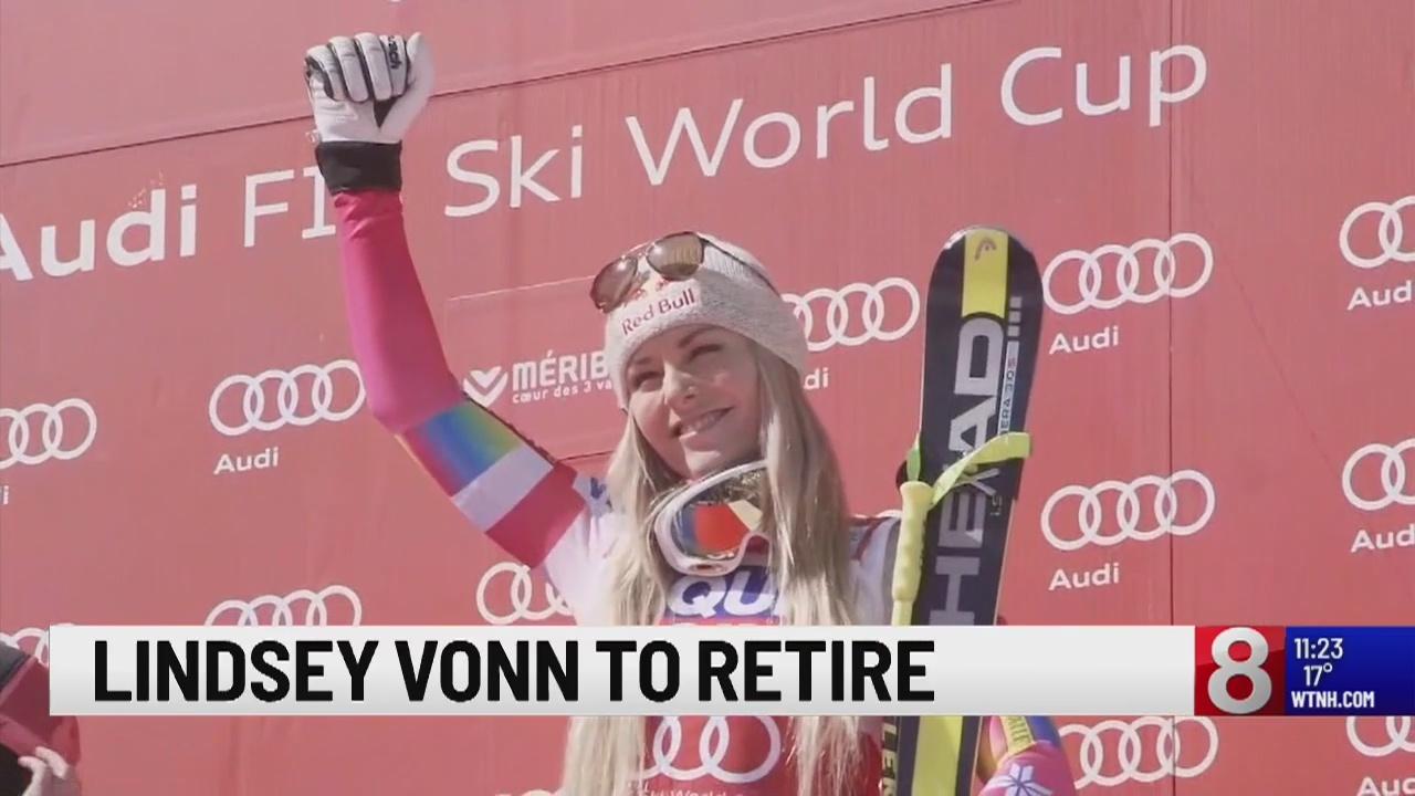 Her knees 'broken beyond repair,' Vonn retiring after worlds