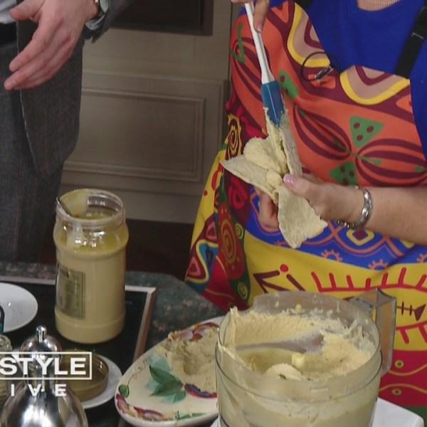 In the Bender Kitchen: Winner of 'Chopped' Ceil Vardar makes hummus