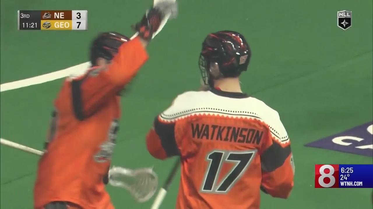 New England Black Wolves' Colton Watkinson spotlight