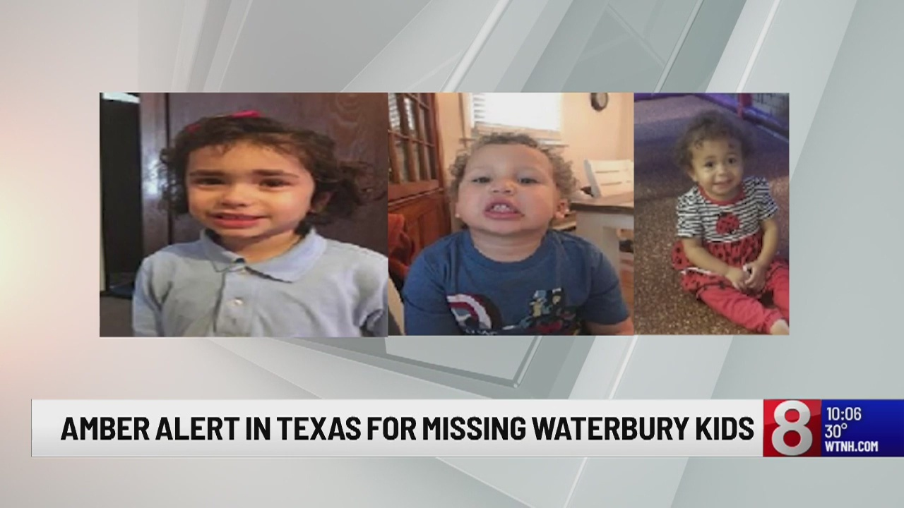 Officials continue search after Amber Alert is issued for 3