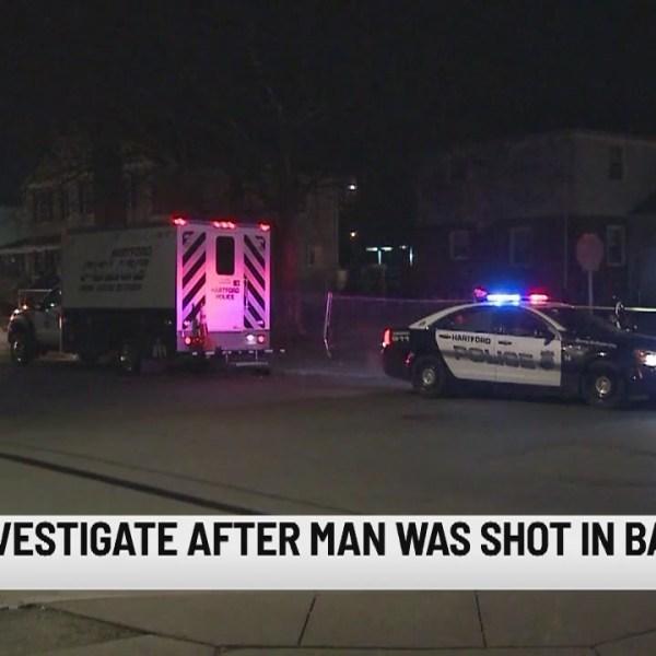 PD: Avon man shot in back in Hartford early Sunday morning