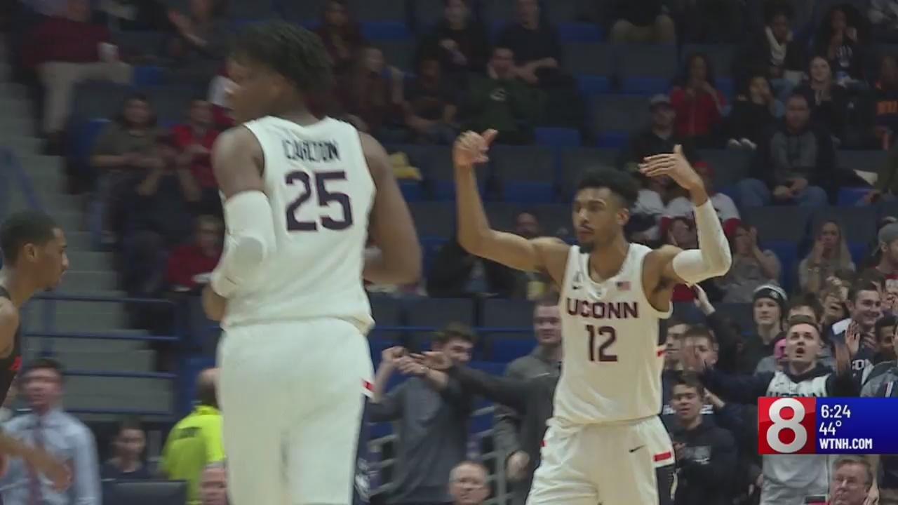UConn men's basketball loses steam, next game against SMU on Thursday