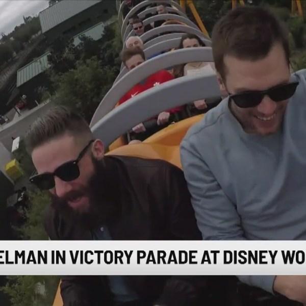 We're going to Disney World: Brady, Edelman celebrate title in Orlando
