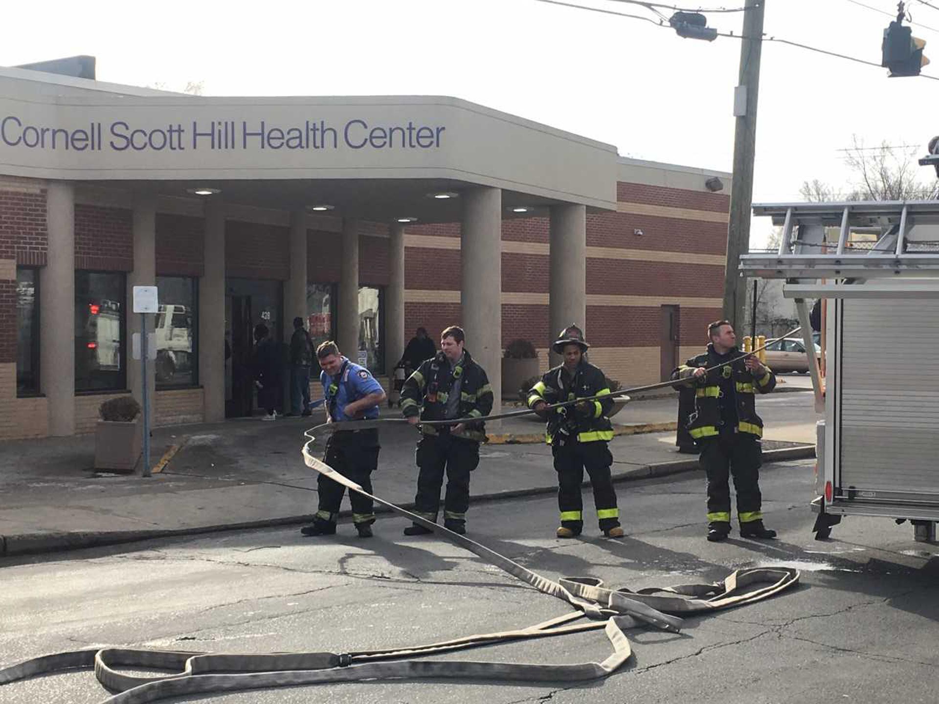 Cornell Scott Hill Health Center fire 2_6_19.jpg