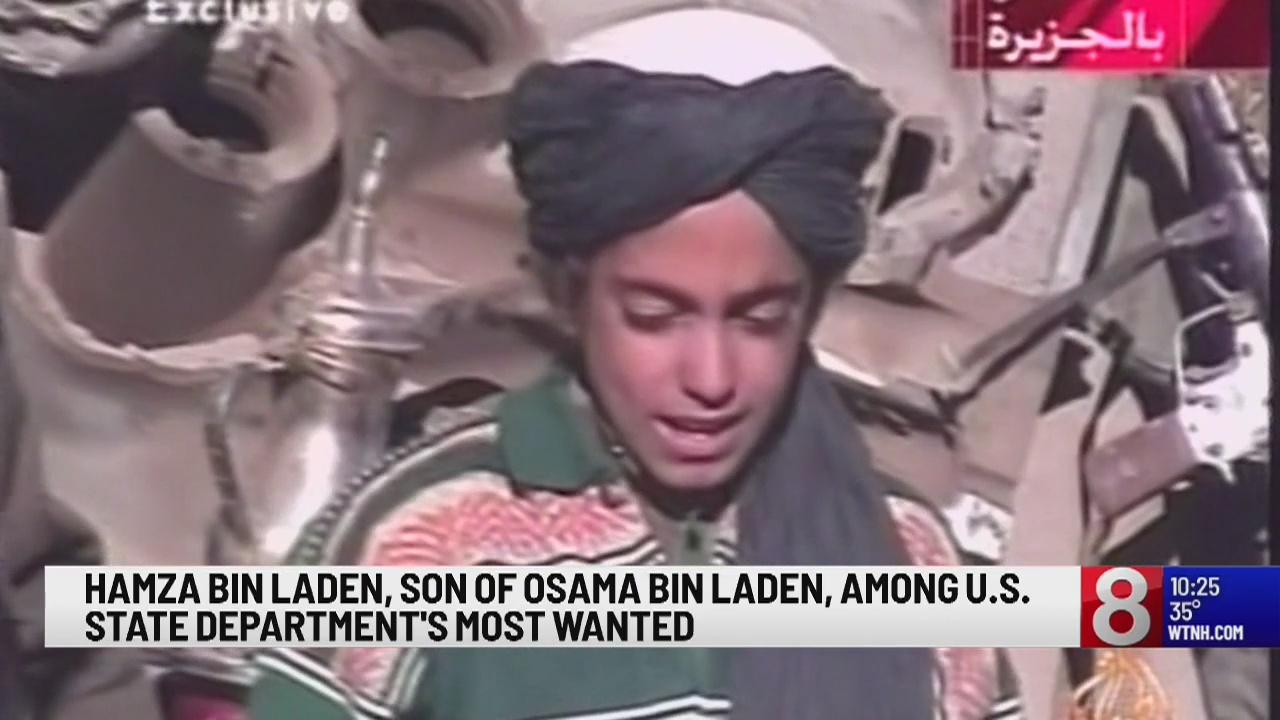 $1 million reward offered for info leading to Osama bin Laden's son