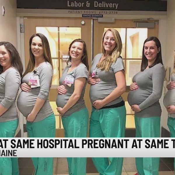 Baby boom at Maine hospital with 9 expectant nurses