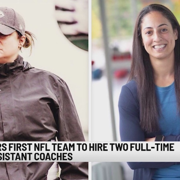 Bucs become 1st NFL team with 2 female coaches on staff