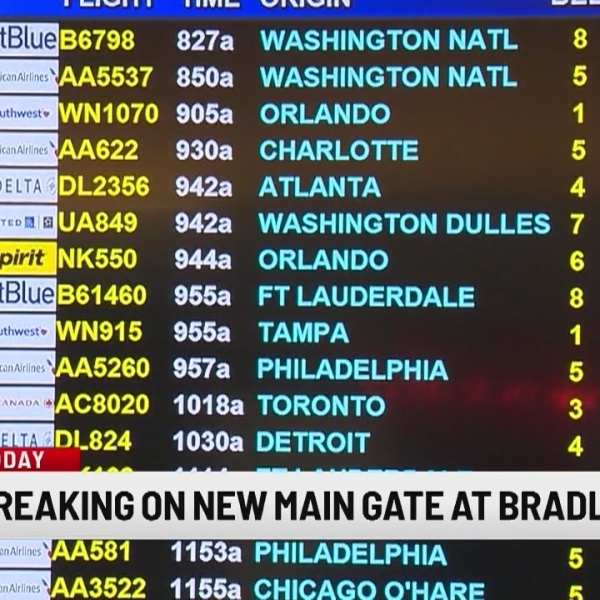 Connecticut Air National Guard to break ground on new main gate at Bradley Airport