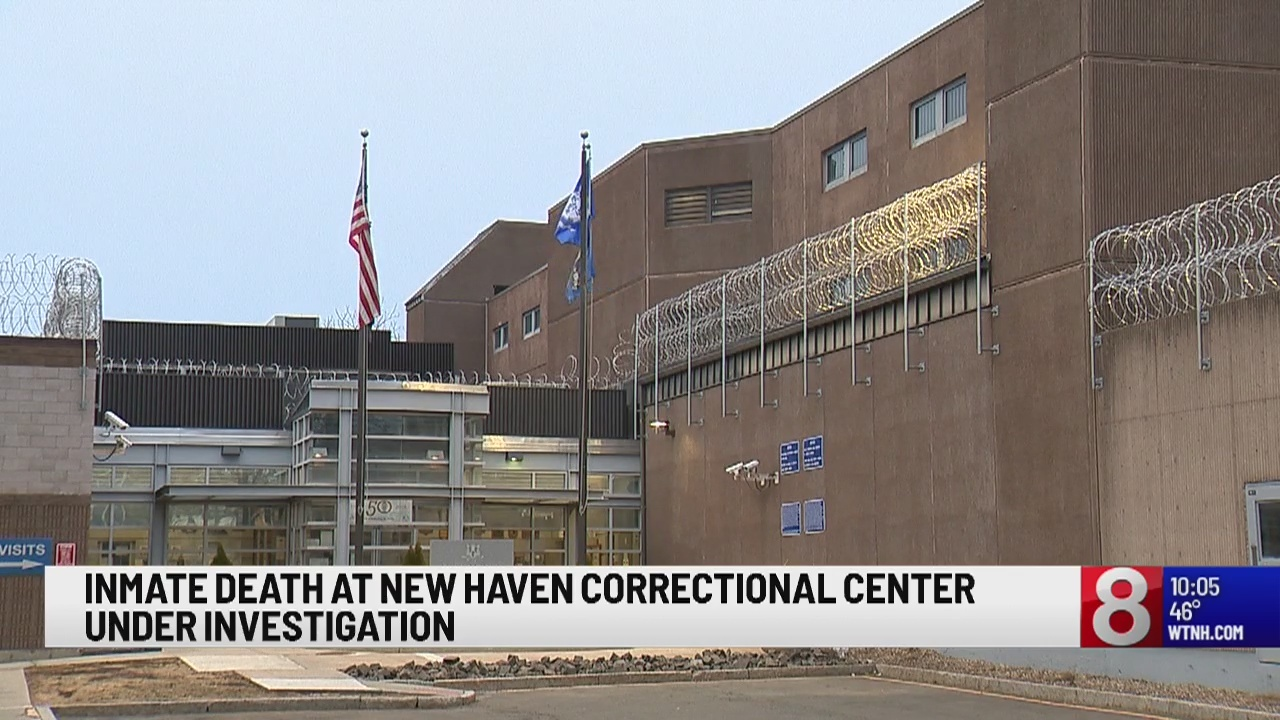 Death at New Haven Correctional Center, correctional