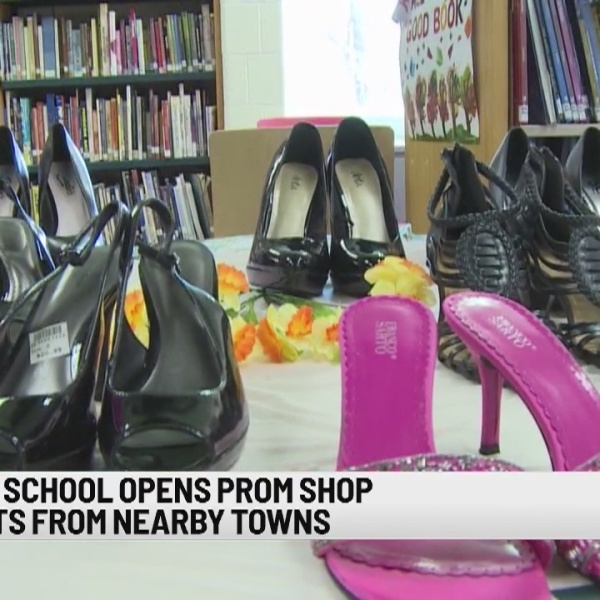 Derby high school prom shop invites students from neighboring towns to choose prom outfits