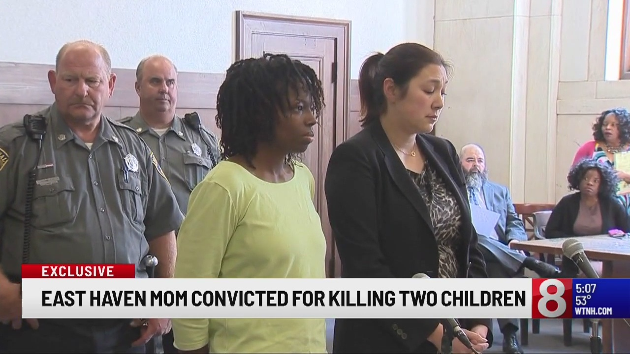 East Haven mother found guilty of killing her two children