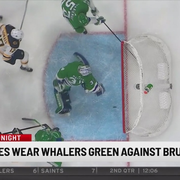 Hurricanes to don Whalers colors for game against Bruins