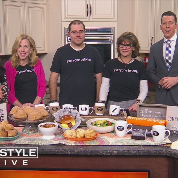 """In The Kitchen: BeanZ and Co. Cafe shares their message, """"Everyone Belongs"""""""