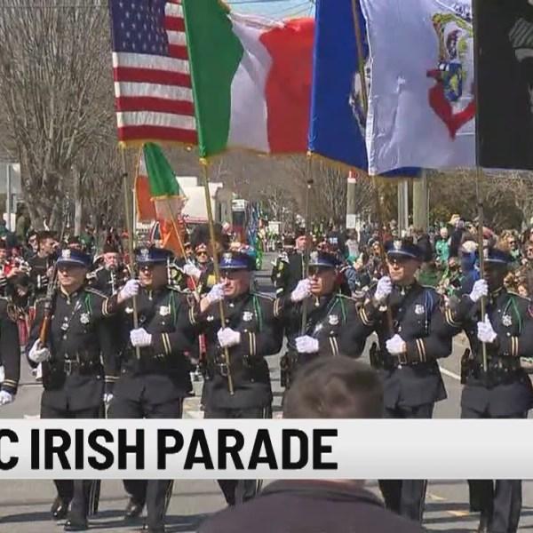 Mystic Irish Parade held Sunday afternoon