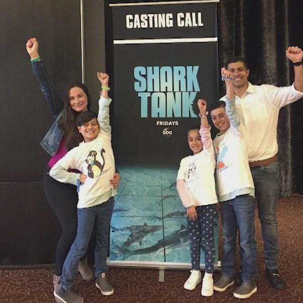 Shelton family featured in SharkTank