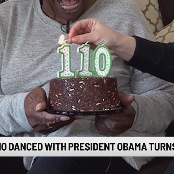 Still dancing at 110': Elder who danced with Obamas gets 'Happy Birthday' wish from Michelle Obama