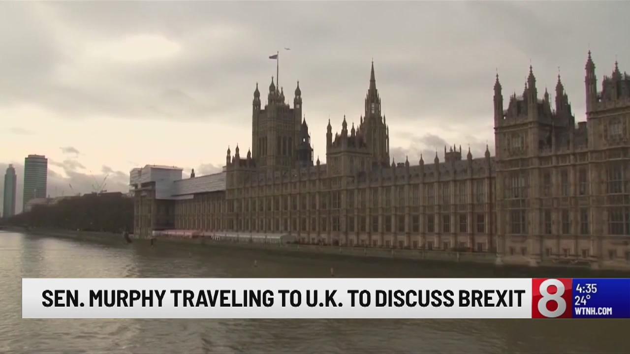 US Sen. Murphy to travel to UK, Ireland to talk Brexit