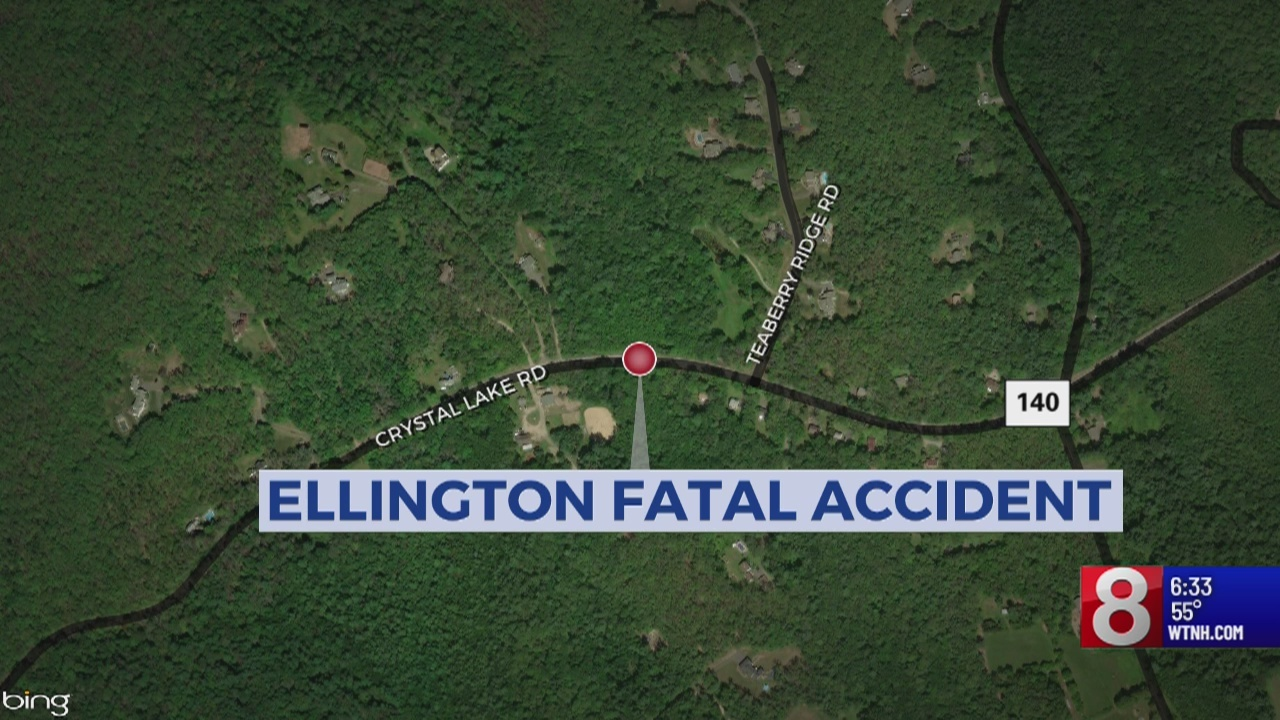 One person dies in Ellington vehicle accident