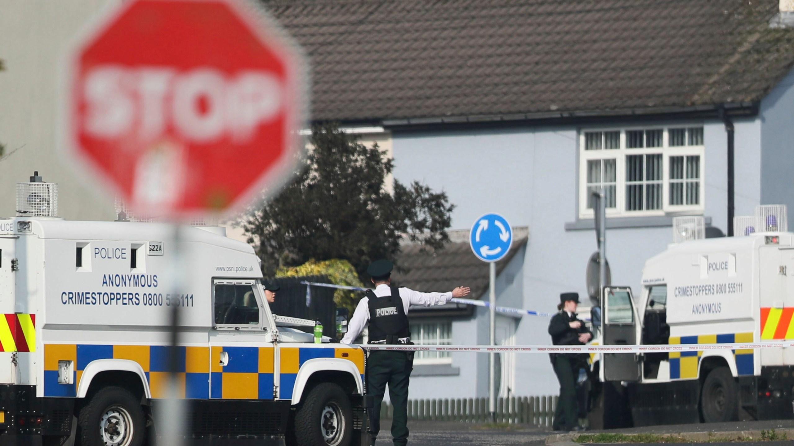 Britain Northern Ireland Journalist Killed_1555791734482